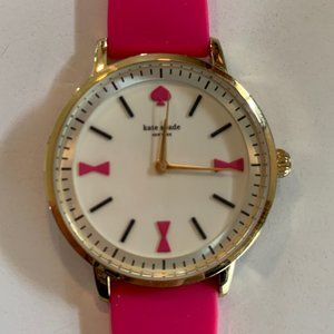 Kate Spade Crosby Silicone Strap Watch 34mm NWOT
